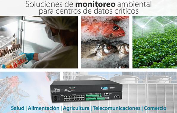 Soluciones de sistema de monitoreo ambiental para la industria