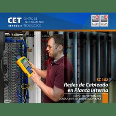 15, 16, 17 y 18 de Abril - Certificación CPCT - Redes en Cableado en Planta Interna