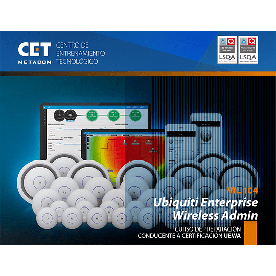 Certificación Ubiquiti® Enterprises Wireless Admin (UEWA)
