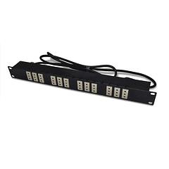 PDU 19 220V 10A 12x5113 / Plug L 2mts