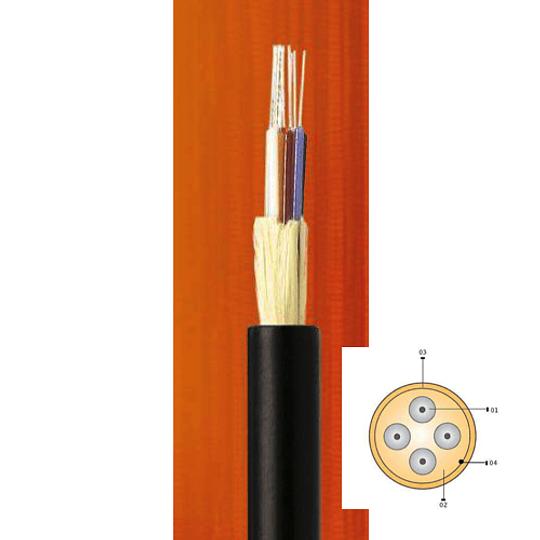 Cable Fibra Óptica 06x10 CDG -TIA 598 / G652D - 10G