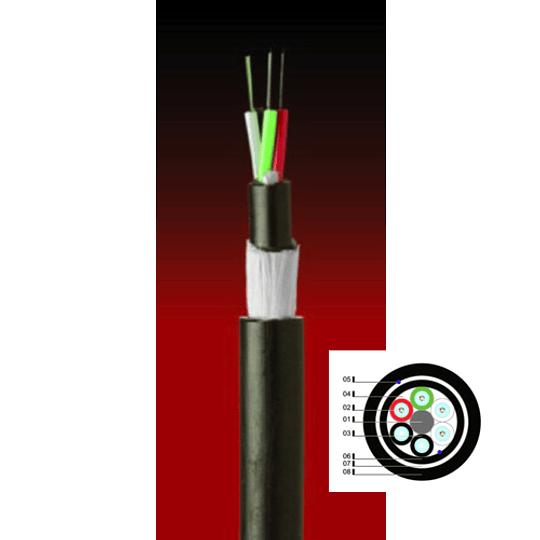 Cable Fibra Óptica  04x62 PDP01- TIA598 / OM1