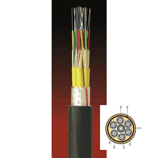 Cable Fibra Óptica 24x10 CDAD (Sub.3.5 mm) - TIA 598 1mts