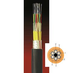 Cable Fibra Óptica 12x10 ADSS-120U TIA 598 & G652D