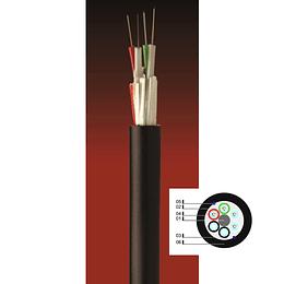 Cable Fibra Óptica 48x10 DP04 -4T12F - TIA 598 / G652D
