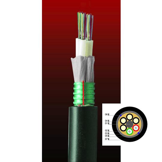 Cable Fibra Óptica 24x62 DSP014T6F - TIA 598 multitubo