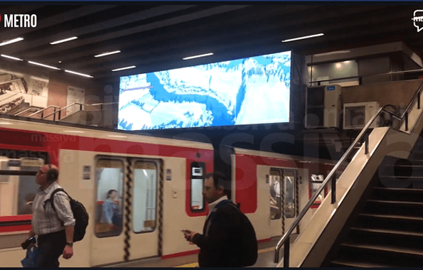 Massiva utiliza equipos NTI para el control de sus nuevas pantallas en Metro de Santiago