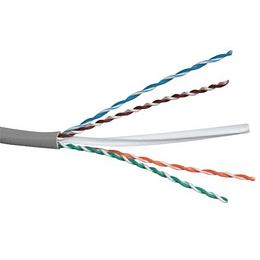 Cable  UTP eco 4 Pares CAT. 6 Multifilar Gris (305)