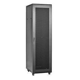 Gabinete  19´´ 45U x600x1000mm Puerta de Vidrio