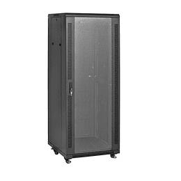 Gabinete  19´´ 32U x600x600mm Puerta de Vidrio