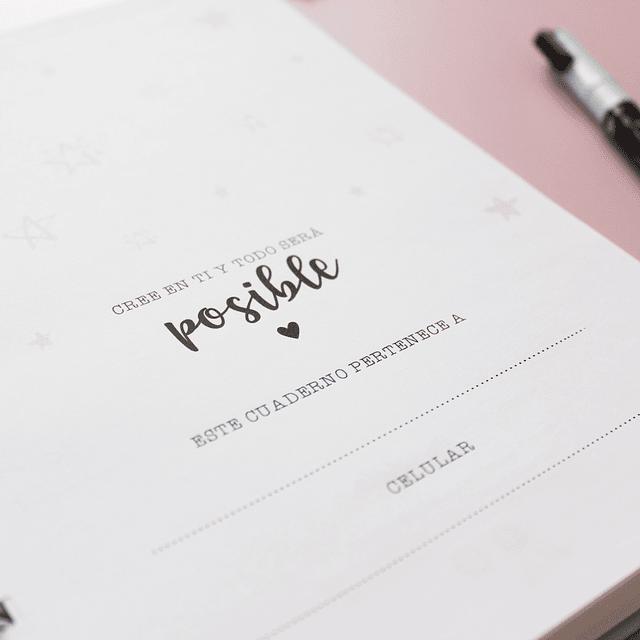 Cuaderno de puntos personalizado
