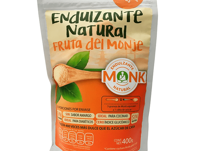 Monk Endulzante Natural 400 g