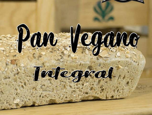 Pan Vegano Integral 680 g