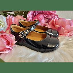 Zapatos Dhalia Charol Azul Marino ($64.900)
