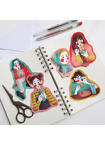 STICKERS CHICAS