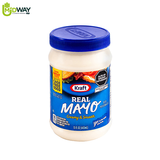 Mayonesa Real Mayo KRAFT - 443ml