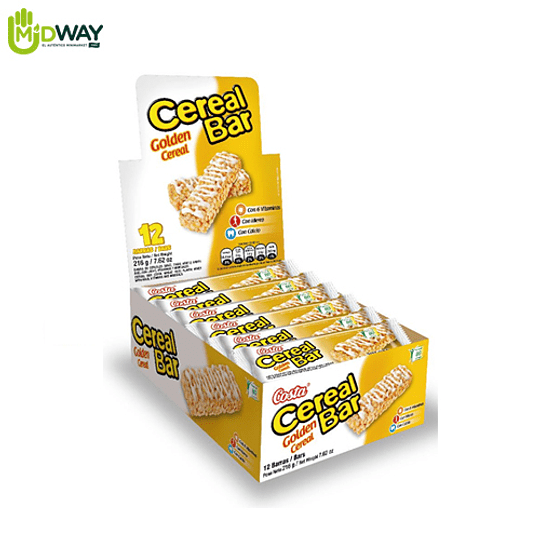 Cereal Bar COSTA Golden Cereal - Paq 12 Und