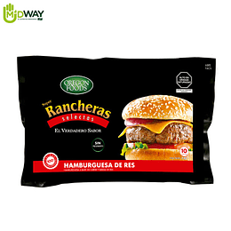Hamburguesa de Res S. Rancheras OREGON FOODS - 600g