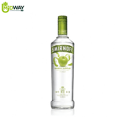 Vodka Smirnoff Green Apple 750ml
