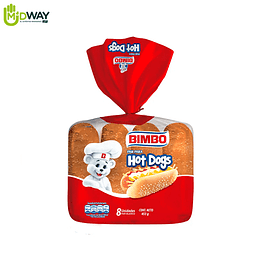Pan para Hot Dog BIMBO - 8U
