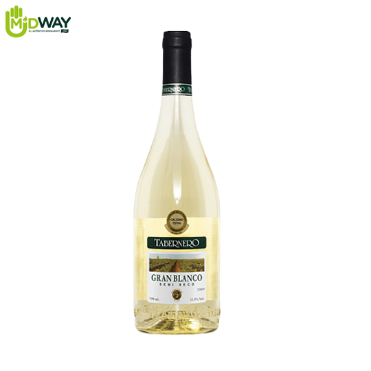 VINO BLANCO TABERNERO SEMISECO - 750ML