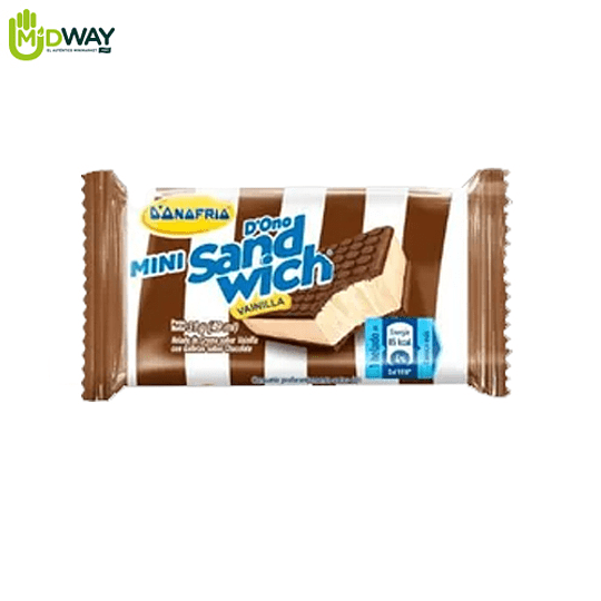 Helado MINI SANDWICH Vainilla - 49ml
