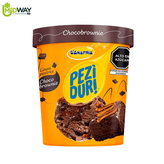 Helado PEZIDURI Brownie - 920ml