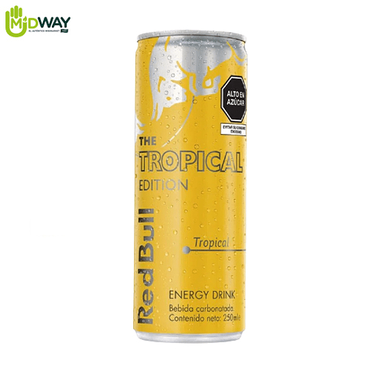 Bebida Energizante RED BULL TROPICAL - 250ML