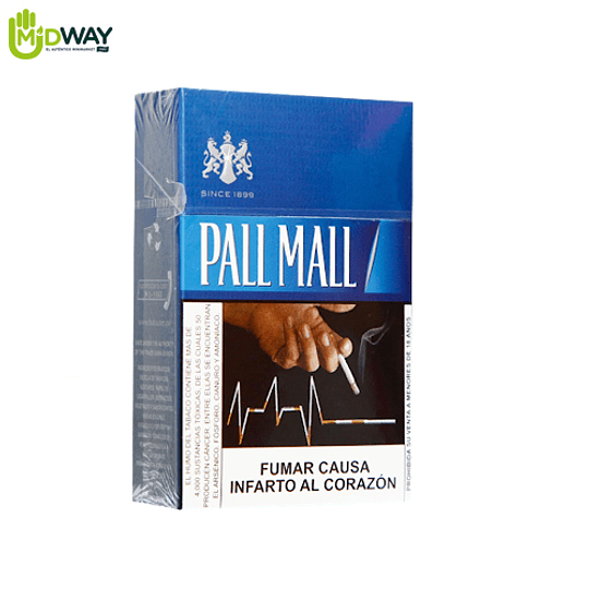 Cigarrillos PALL MALL Blue - 20U