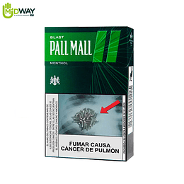 Cigarrillos PALL MALL Green Box - 10U