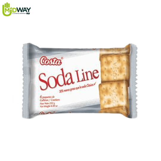 Galleta SODA LINE - 42g Paquete 6U