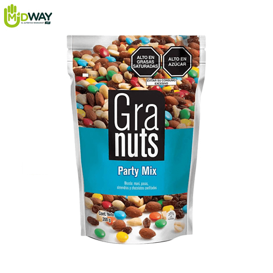 Mezcla GRANUTS Party Mix - 200g