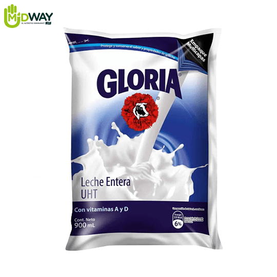 GLORIA UHT Entera en Bolsa - 900ml