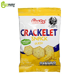Galleta CRACKELET Queso Costa - 47g