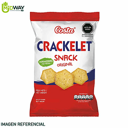 Galleta CRACKELET Original Costa - 47g