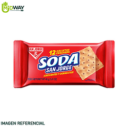 Galleta de Soda SAN JORGE - 43g