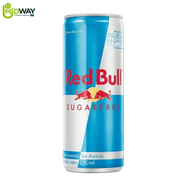 Bebida Energizante RED BULL Sugar Free - 250ML