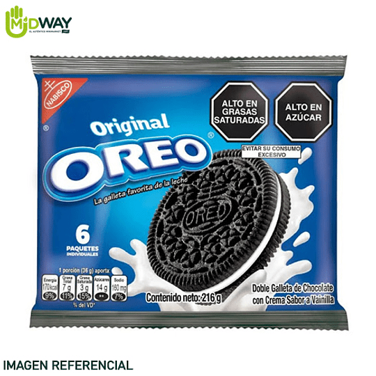 Galleta OREO Original Paquete 6U