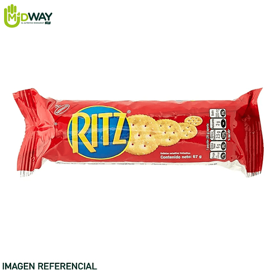 Galletas RITZ Tubular