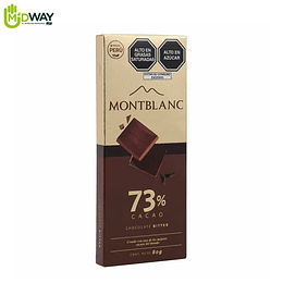 Chocolate MONTBLANC 73% Cacao - 80g