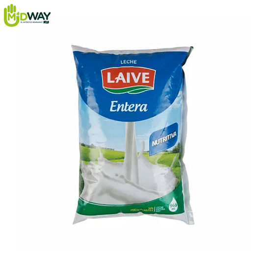 Leche LAIVE Entera - 900ml