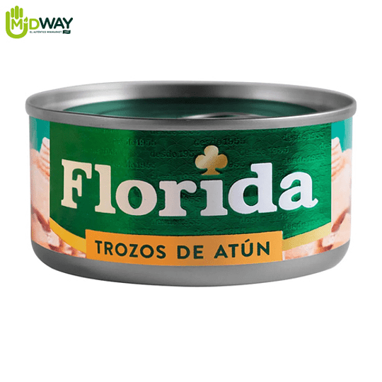 Trozos de Atún FLORIDA Light - 170g