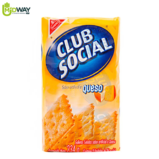 Galleta CLUB SOCIAL Queso Paquete 6U