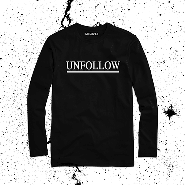 UNFOLLOW / BLACK
