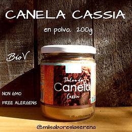 Canela Cassia En Polvo 200g Biov