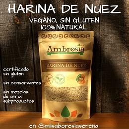 Harina De Nuez 500g Sin Gluten Vegano