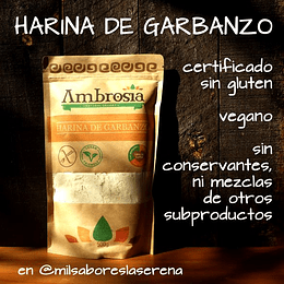 Harina De Garbanzo 500g Certif. Sin Gluten