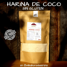 Harina De Coco 500g Producto Local Sin Gluten
