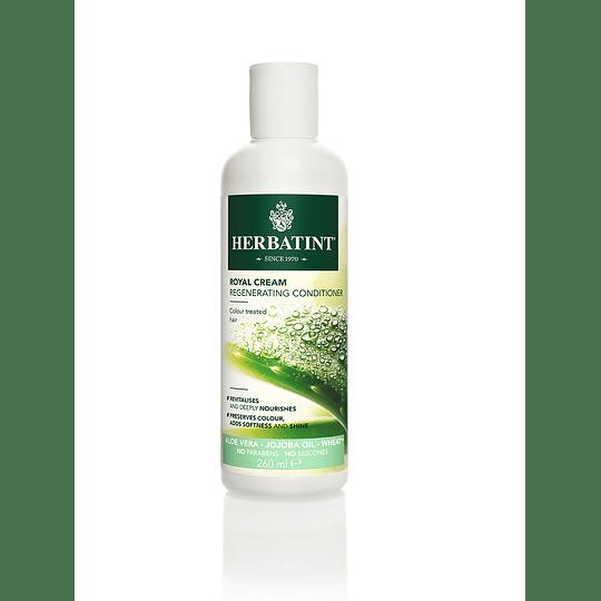 Acondicionador Natural con Aloe Vera Herbatint, 260 ml