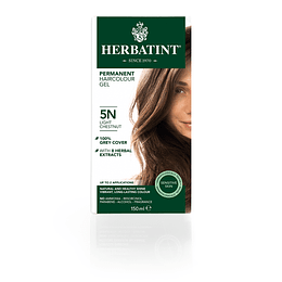 5N Castaño Claro Tintura De Pelo Sin Amoniaco con Aloe Vera Herbatint